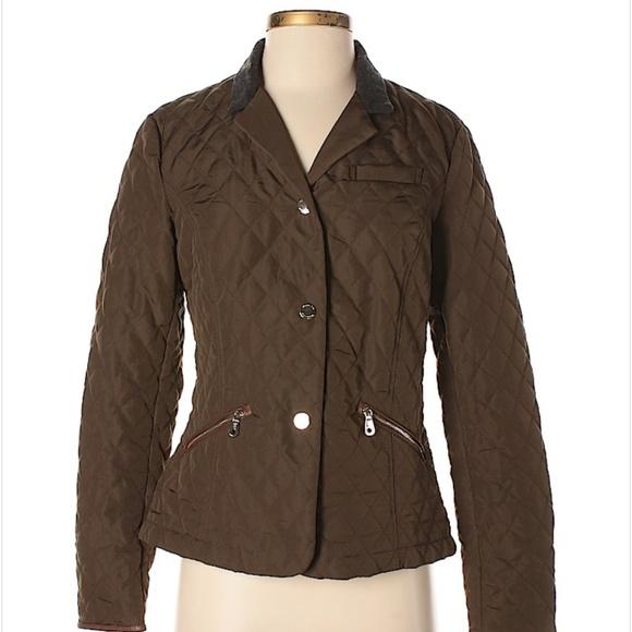 18e6cad452 Massimo Dutti Jackets & Coats | Quilted Jacket | Poshmark